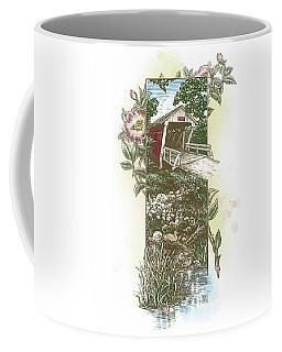 Iowa Covered Bridge Coffee Mug