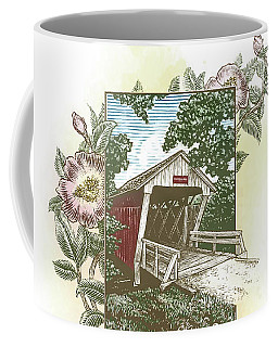 Iowa Covered Bridge Coffee Mug
