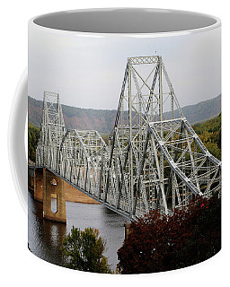 Iowa - Mississippi River Bridge Coffee Mug