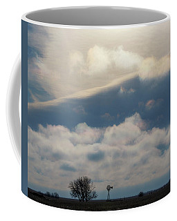 Coffee Mug featuring the photograph Iridescent Clouds 01 by Rob Graham