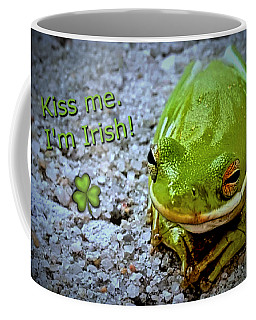 Irish Frog Coffee Mug