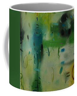 Coffee Mug featuring the drawing Irish Rain by Camille Rendal