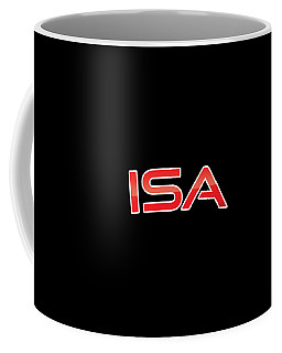 Coffee Mug featuring the digital art Isa by TintoDesigns
