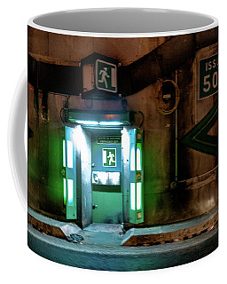 Coffee Mug featuring the photograph Issue 504 by Randy Scherkenbach