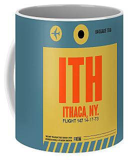 Ith Ithaca Luggage Tag I Coffee Mug