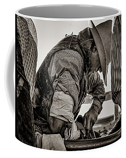 Its The White Of His Knuckles Coffee Mug