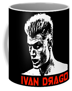 Ivan Drago Pop Art Coffee Mug
