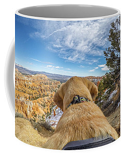 Coffee Mug featuring the photograph Jackson At Bryson Canyon by Matthew Irvin
