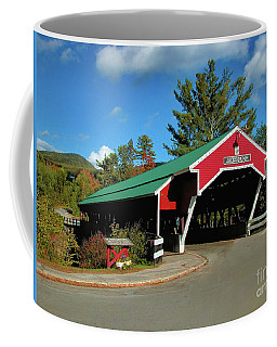 Coffee Mug featuring the photograph Jackson Covered Bridge by Debbie Stahre