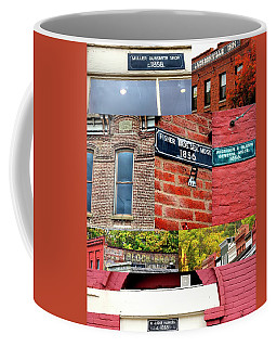 Coffee Mug featuring the photograph Jacksonville Collage 1 by Jerry Sodorff