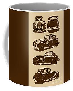 Jaguar Mark Iv Ss 2.5 Saloon Coffee Mug