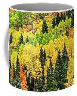 Jam-packed Hillside Coffee Mug