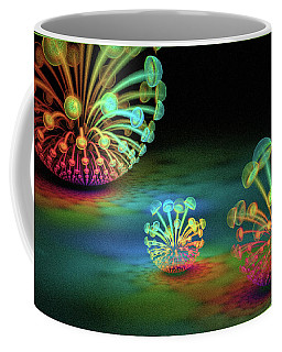 Coffee Mug featuring the digital art James by Missy Gainer