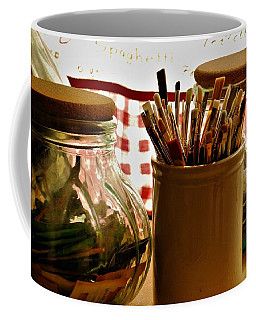 Janettes Brushes Coffee Mug