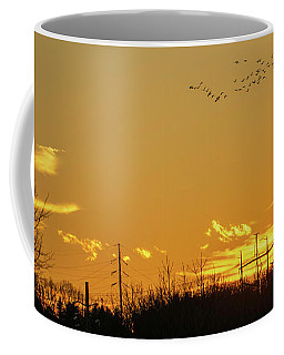 January Sunset - Lehigh Valley - Photography Coffee Mug