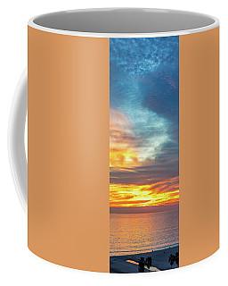 January Sunset - Vertirama Coffee Mug
