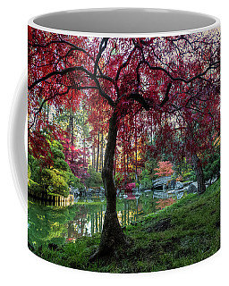 Japanese Maple Sunburst Coffee Mug
