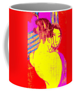 Japanese Pop Art Print 1 Coffee Mug