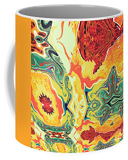 Coffee Mug featuring the digital art Jar by A z Mami