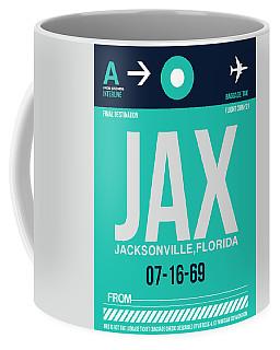 Jax Jacksonville Luggage Tag II Coffee Mug