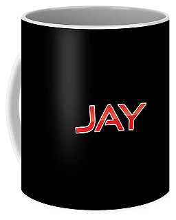 Coffee Mug featuring the digital art Jay by TintoDesigns