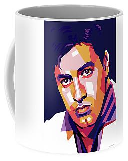 Jerry Lewis Illustration Coffee Mug