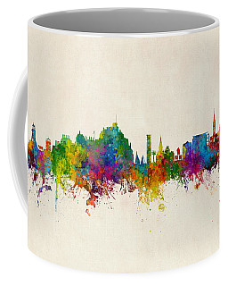 Jersey Channel Islands Skyline Coffee Mug