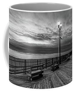 Jersey Shore In Winter Coffee Mug