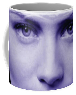Coffee Mug featuring the painting Jestful Water Drops  by Arttantra