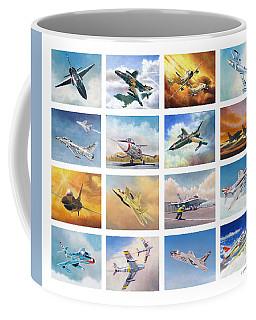 Jet Poster Coffee Mug