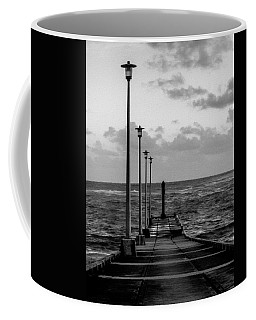 Coffee Mug featuring the photograph Jetty by Stuart Manning