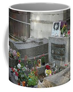 Jim Morrison's Grave Coffee Mug