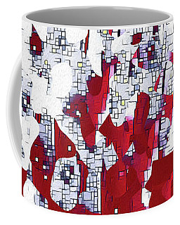 Coffee Mug featuring the painting John 14 2. Preparing A Place For You by Mark Lawrence