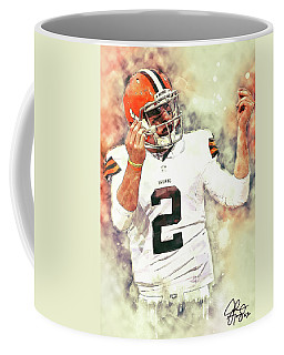 Johnny Manziel Coffee Mug