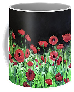 Jon's Poppies Coffee Mug