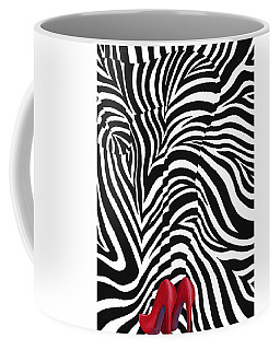 Coffee Mug featuring the painting Josephine by Blake Emory