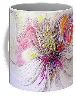 Coffee Mug featuring the mixed media Joy by Rosanne Licciardi