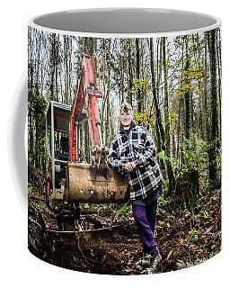 Julie Hillman - Female Gravedigger Coffee Mug