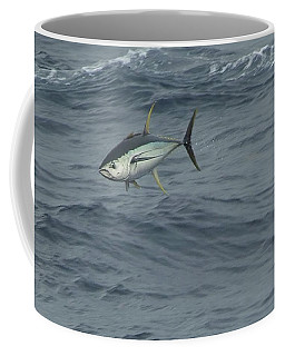 Jumping Yellowfin Tuna Coffee Mug