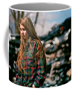 Coffee Mug featuring the photograph Junk by Carl Young