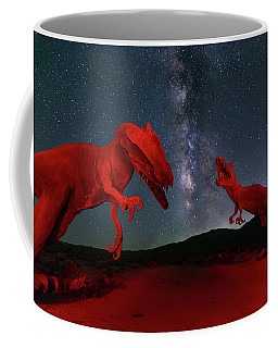 Coffee Mug featuring the photograph Jurassic by Tassanee Angiolillo
