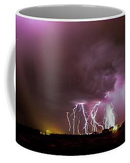 Coffee Mug featuring the photograph Just A Few Bolts 001 by NebraskaSC