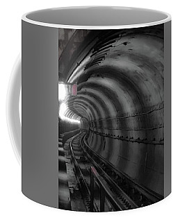 Coffee Mug featuring the photograph Just Around The Bend by Lora J Wilson