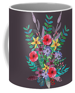 Just Flora II Coffee Mug