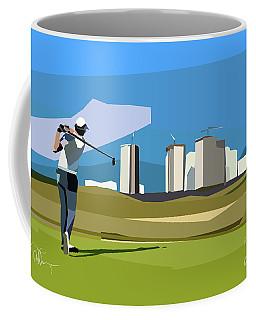 Justin Rose In Rio  Coffee Mug
