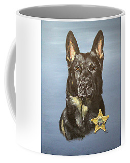 Worse Enemy Gift Coffee Mug Police K9 No Better Friend Front..