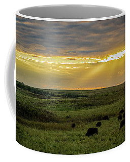 Kansas Flint Hills Sunset Coffee Mug