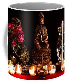 Kanzeon Bosatsu - Zen Altar Coffee Mug