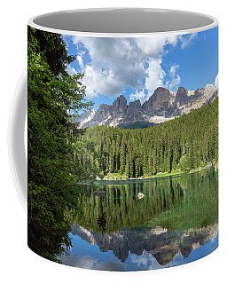 Karersee And Rosengarten Group Coffee Mug