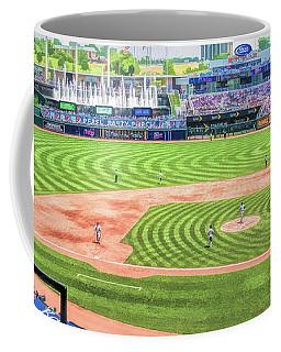 Kauffman Stadium Kansas City Royals Baseball Ballpark Stadium Coffee Mug